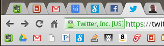 FavIcon Bookmark Bar